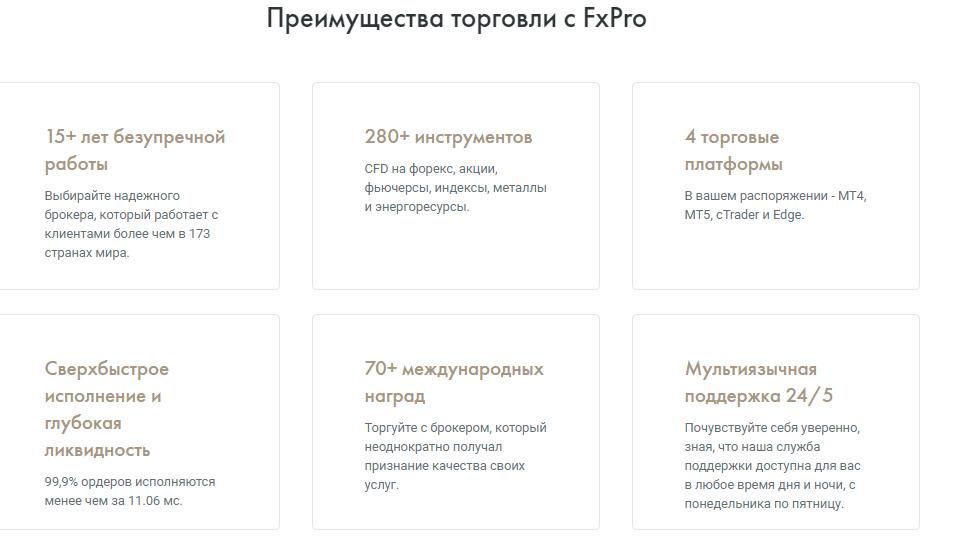 почему стоит выбирать FxPro