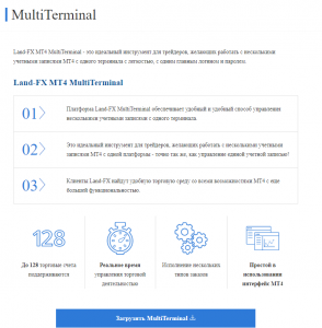 land-fx multiterminal
