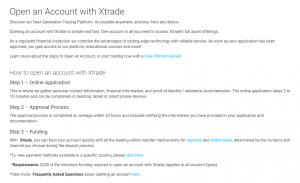 xtrade открыть счет