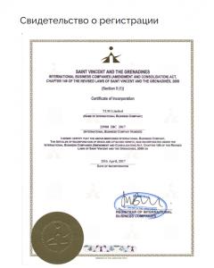сертификат limefx
